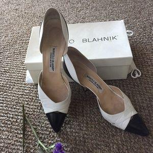 """Manolo Blahnik D'Orsay 3"""" Heels"""